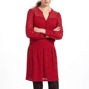 Leifnotes Field Day Lace Peasant Dress